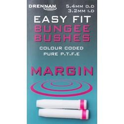 Drennan - Conector Elastic Rubeziana Easy Fit Bush Margin 4.1mm