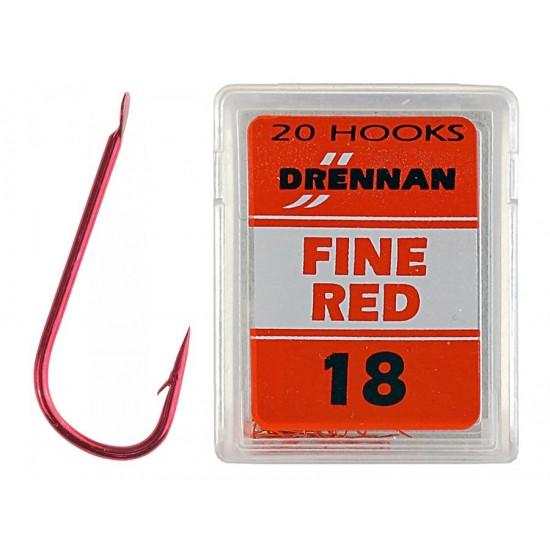 Drennan - Fine Red Nr. 24 20 buc