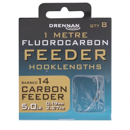 Drennan - Carlige Legate Fluoro Carbon Feeder Nr. 14