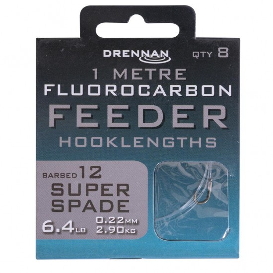 Drennan - Carlige Legate Fluoro Super Spade Nr. 12