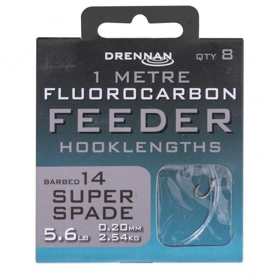 Drennan - Carlige Legate Fluoro Super Spade Nr. 14