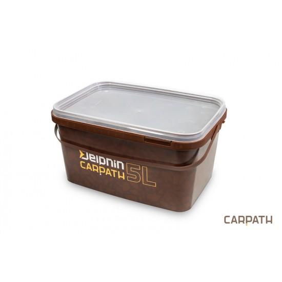 Delphin - Galeata patrata cu capac Carpath