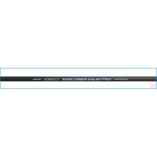 Drennan S7 Rigid Carbon Net Pole - Coada minciog 2.6m