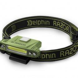 Delphin - RAZOR USB Lampa de Cap
