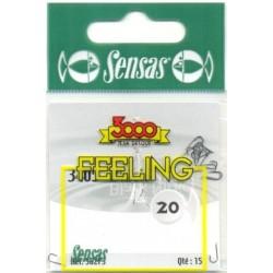 Carlig  Sensas Feeling 3405 Nr.18 Black