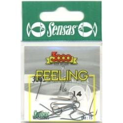 Carlig  Sensas feeling 3065 Nr.18 Black