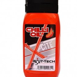Bait-Tech Aditiv Lichid X-Cite Hot Chilly Oil 300ml