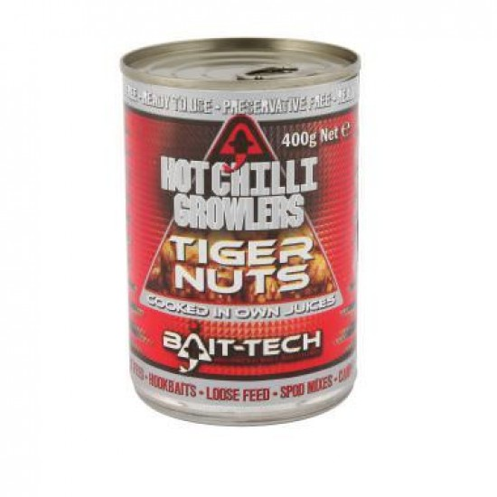 Bait-Tech Growlers Hot Chilli Tiger Nuts