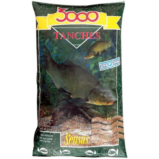 Nada Sensas 3000 Tanches (Lin) 1Kg