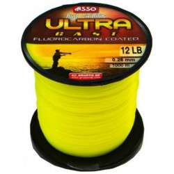 Asso Ultracast Galben Fluo 0.20mm / 1000m