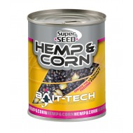 Bait-Tech Canned Superseed Hemp and Corn  350 gr