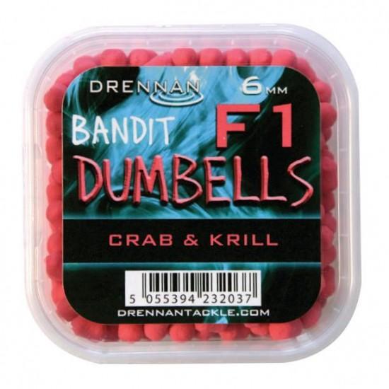 Drennan F1 Dumbell 6mm Crab si Krill