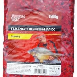 Benzar Mix - Rapid Big Fish Mix Capsuni 1.5kg