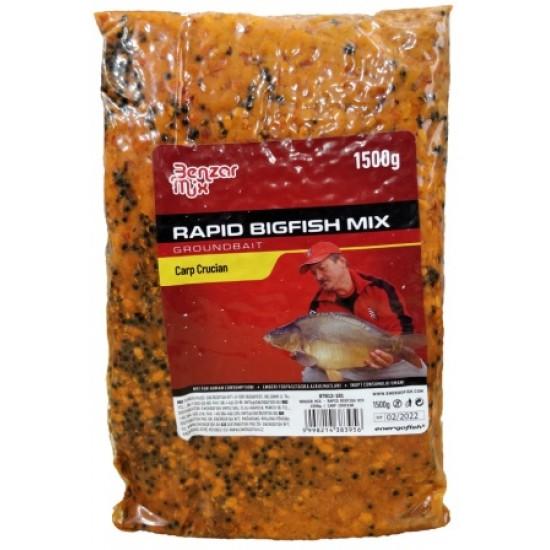 Benzar Mix - Rapid Big Fish Mix Crap Caras 1.5kg