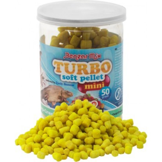 Benzar Mix - Mini Turbo Soft Pellet Tutti Frutti