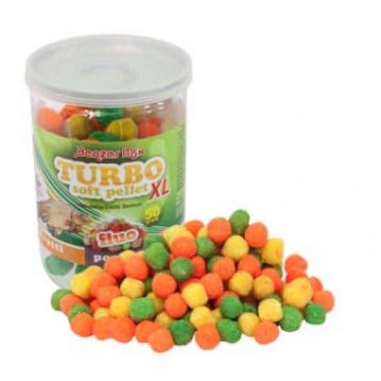 Benzar Mix - Turbo Soft Pellet Tutti Frutti