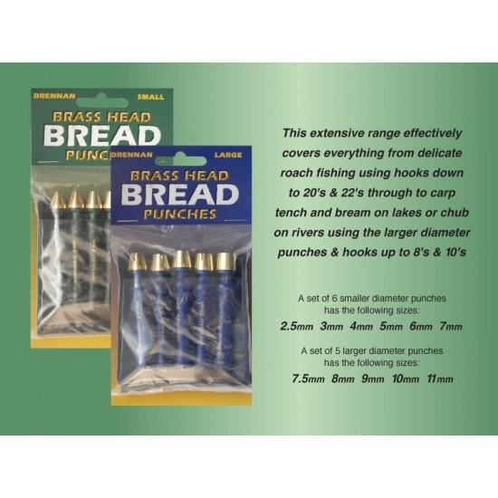 Preducele cu cap din alama - Drennan Brass Head Bread Punches - Large