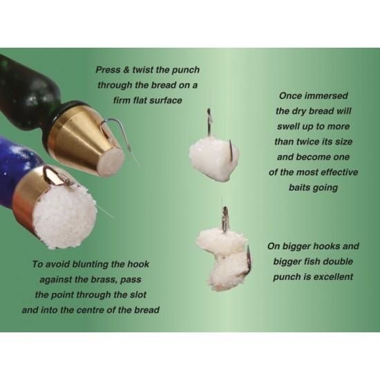 Preducele cu cap din alama - Drennan Brass Head Bread Punches - Small
