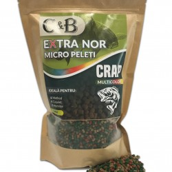 C&B - Micro Peleti Extra Nor Multicolor 4mm