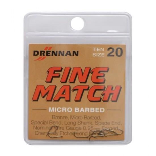 Carlig Drennan Fine Match Nr.18 25buc