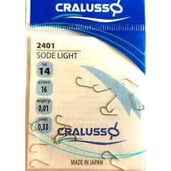 Cralusso - Carlige Sode Light Nr.16