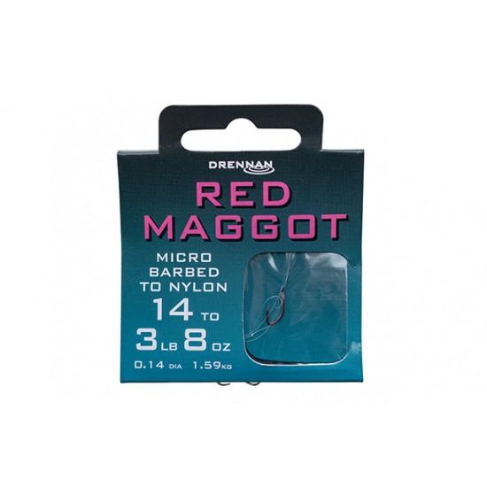 Drennan - Carlige Legate Red Maggot Nr.16
