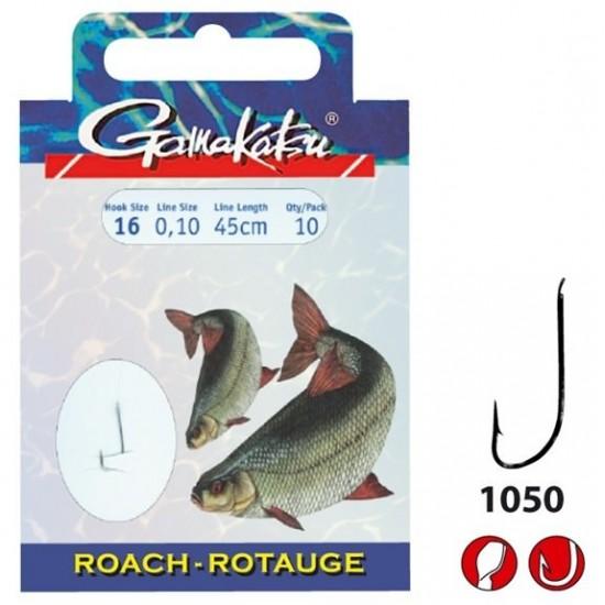 Carlige Legate Gamakatsu LS-1050N Nr.18 cu 0.10mm