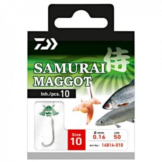 Daiwa - Carlige Legate Samurai Maggot Nr.12