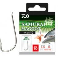 Daiwa - Carlige Legate Samurai Maggot Nr.18