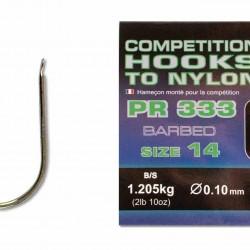 Carlige Legate Preston PRC 333 Hooks To Nylon nr.14