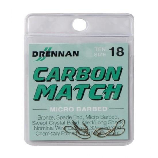 Carlig Drennan Carbon Match Nr.20
