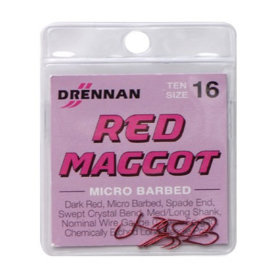 Carlig Drennan Red Maggot Nr.14 25buc