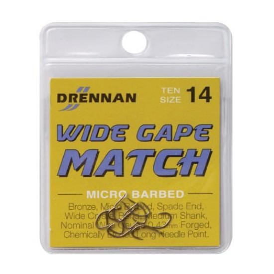 Carlig Drennan Wide Gape Match Nr.22
