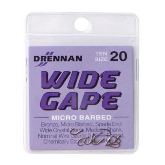 Carlig Drennan Wide Gape Nr.20