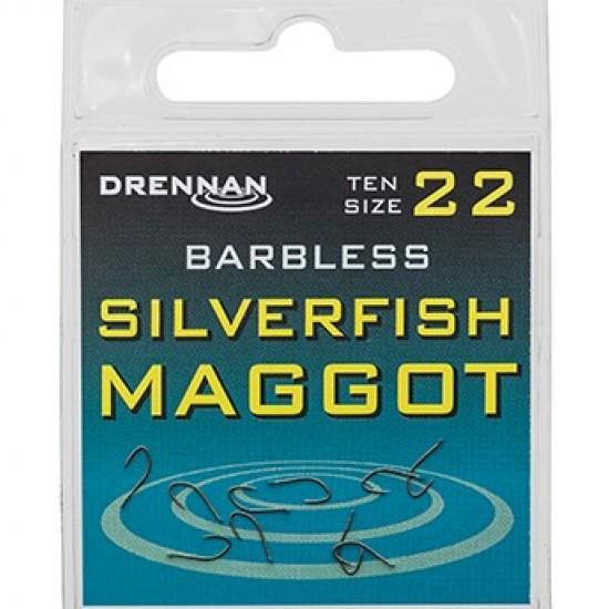 Drennan  Carlige Silverfish Maggot Barbless Nr.18