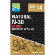 Carlige Preston Natural N-30 Nr.14
