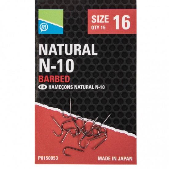 Carlige Preston Natural N-10 Nr.18