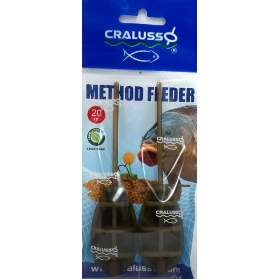 Cralusso - Method Feeder 2buc/set L 20g