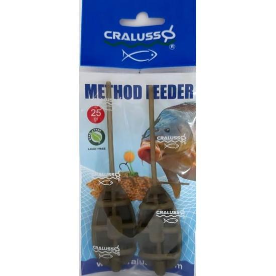 Cralusso - Method Feeder 2buc/set L 25g