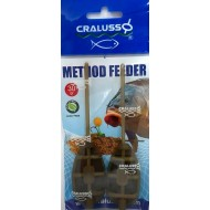 Cralusso - Method Feeder 2buc/set L 30g