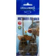 Cralusso - Method Feeder 2buc/set L 40g