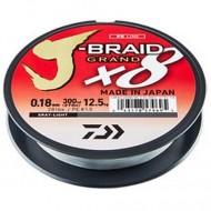 Daiwa Grand J-Braid Gray Fir textil 8Braid 0.18mm / 135m