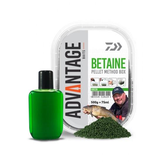 Daiwa - Advantage Pellet Box Green Betain 500g