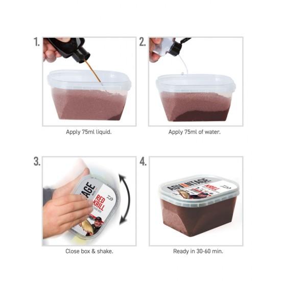 Daiwa - Advantage Pellet Box Red Krill 500g