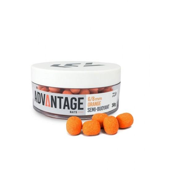Daiwa - Advantage Wafter Orange 6-8mm