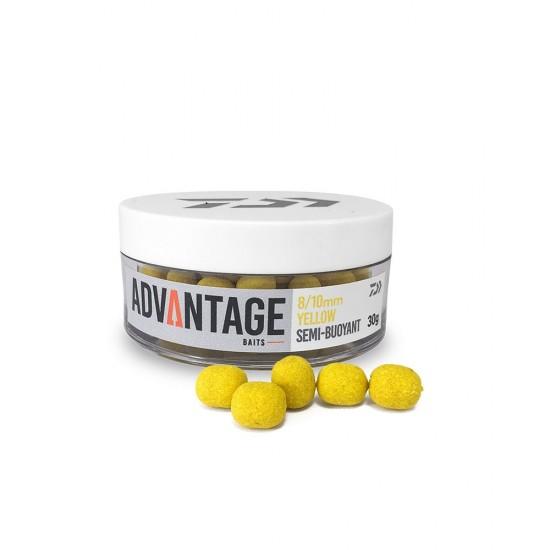 Daiwa - Advantage Wafter Yellow 8-10mm
