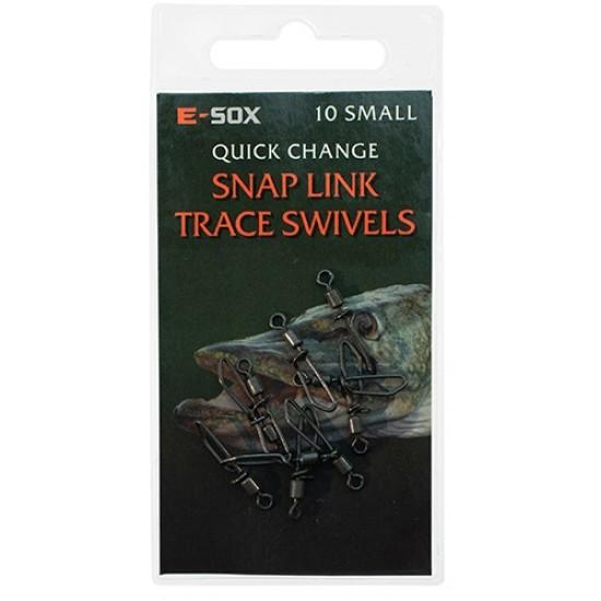 Drennan E-Sox Quick Snap Link Swivel Small