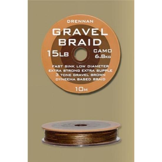 Drennan Gravel Braid - Fir Textil 10lb