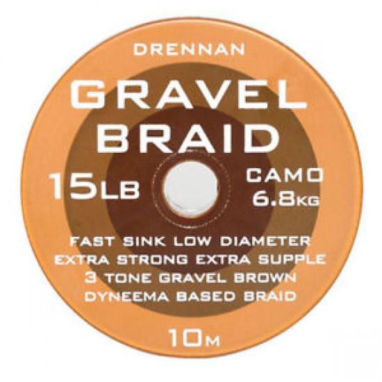 Drennan Gravel Braid - Fir Textil 8lb