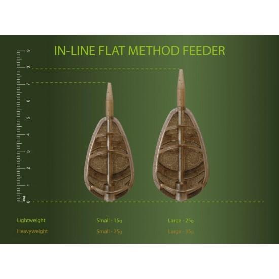 Momitor method - Drennan In-Line Flat Method Feeder  Small 35G
